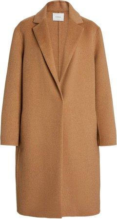 Vince Classic Wool-Blend Coat