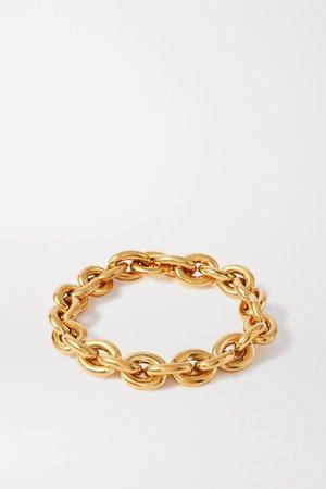 Gold Gold-plated necklace | Bottega Veneta | NET-A-PORTER