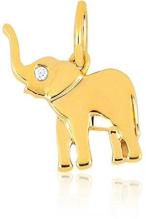 Lucky Diamond Elephant Charm