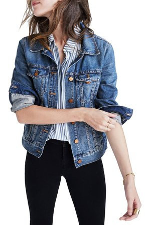 Madewell Denim Jacket (Regular & Plus Size) | Nordstrom