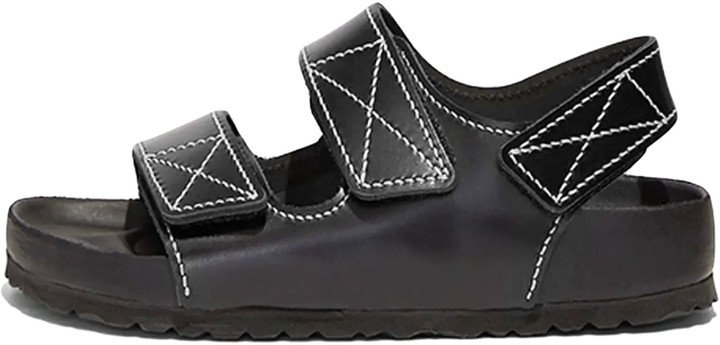 x Birkenstock Milano Sandal in Black