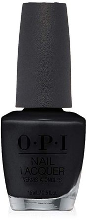 OPI Nail Lacquer. Black Onyx