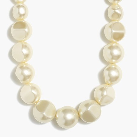 J.Crew Factory: Pearl Statement Necklace For Women