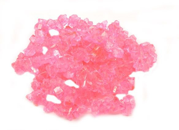 Cherry Rock Candy Strings - 5 lb. - Candy Favorites