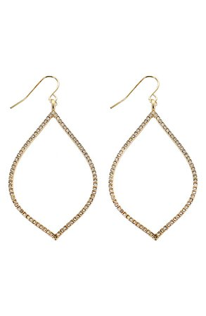 Panacea Marquise Crystal Earrings | Nordstrom