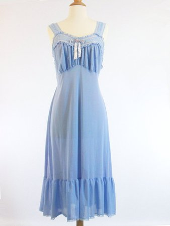 Vintage 50s Negligee Nightgown Slip by Phil-Maid – Better Dresses Vintage