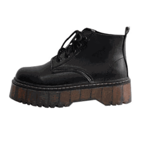 itGirl Shop | AUTUMN AND WINTER PLATFORM VINTAGE BOOTS