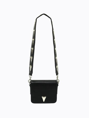 Poppy Lissiman - Great White Shoulder Bag - Black