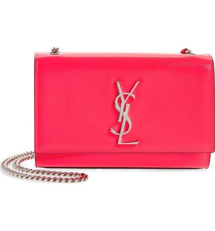 Saint Laurent Small Kate Calfskin Leather Crossbody Bag | Nordstrom