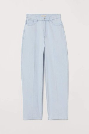 Tapered High Jeans - Blue