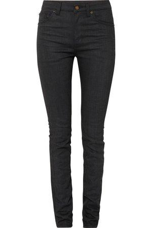 SAINT LAURENT | High-rise skinny jeans | NET-A-PORTER.COM
