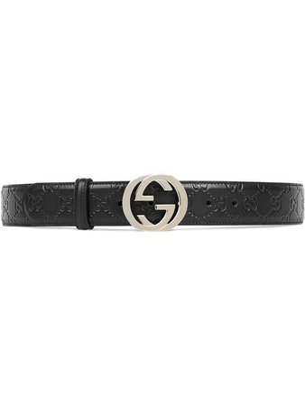 Gucci Gucci Signature Leather Belt - Farfetch
