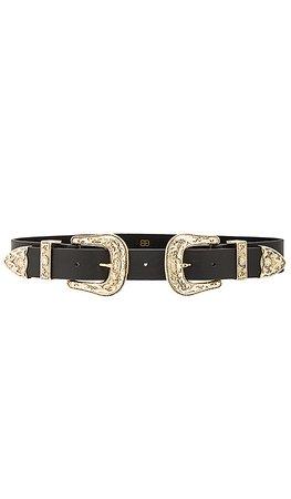 B-Low the Belt Bri Bri Waist Belt in Black & Gold | REVOLVE