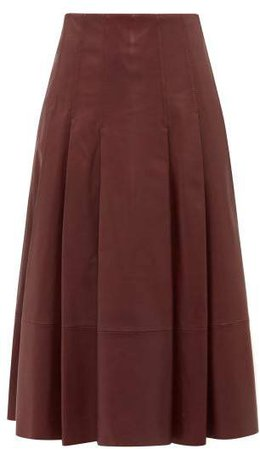 Donata Skirt - Womens - Burgundy