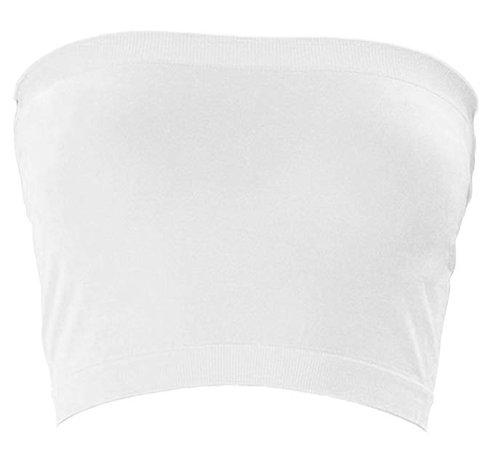 white tube top
