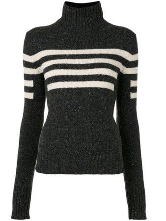 Chanel Pre-Owned 2008 Sports Horizontal Stripe Jumper - Farfetch