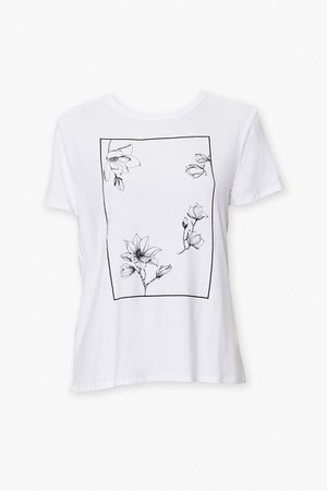 Floral Art Graphic Tee | Forever 21