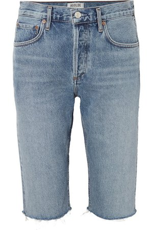 AGOLDE | Carrie denim shorts | NET-A-PORTER.COM