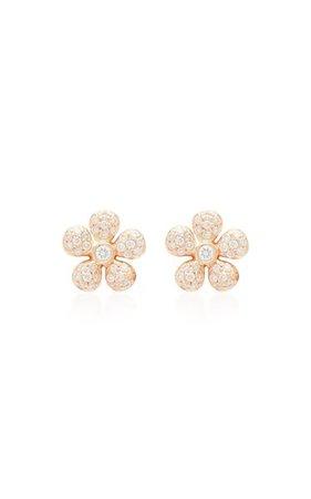 18k Gold And Diamond Earrings By Colette Jewelry   Moda Operandi