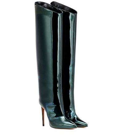 Alex patent leather boots