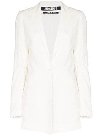 Jacquemus La Veste Single-Breasted Blazer Ss20 | Farfetch.com