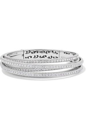 de GRISOGONO | Bracelet en or blanc 18 carats et diamants Allegra | NET-A-PORTER.COM