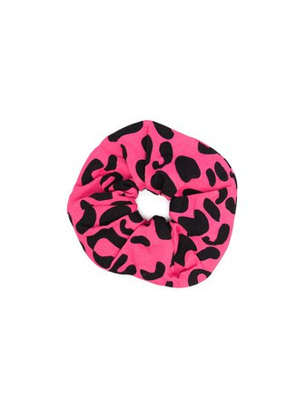 Shop pink & black WAUW CAPOW by BANGBANG leopard sport scrunchie with Express Delivery - Farfetch