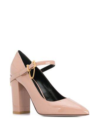 Valentino Garavani Block Heel Pumps | Farfetch.com