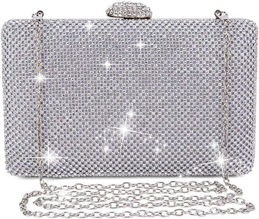 Clocolor Evening Bags and Clutches for Women Rhinestone Crystal Clutch Purse for Bridal Wedding Party: Handbags: Amazon.com
