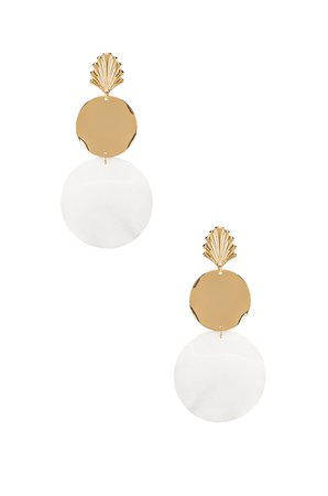 Seashell Drop Earrings