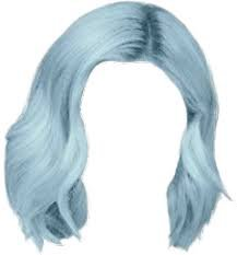 blue hair png - Google Search