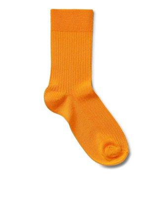 Lo Socks - Yellow - Socks - Weekday GB