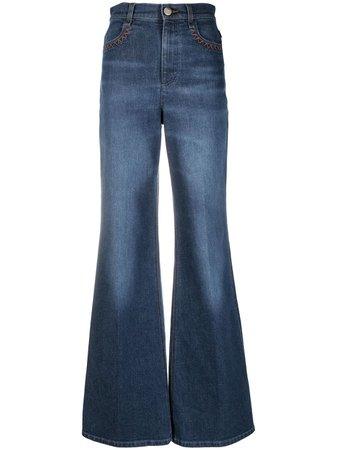 Chloé high waist flared jeans