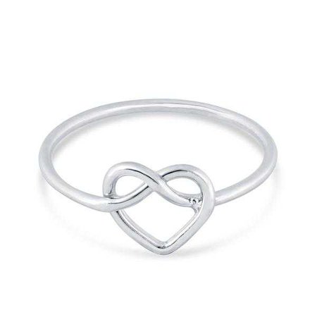 Rings | Shop Women's Pink Sterling Silver Ring at Fashiontage | RG102-5#1