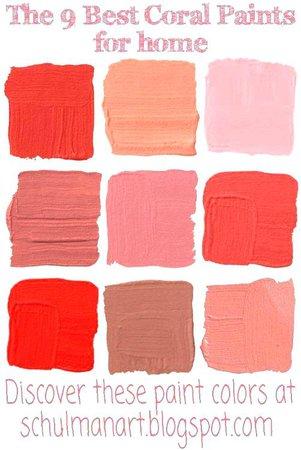 coral colors - Google Search