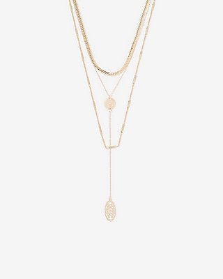 Multi-chain Layered Filigree Necklace | Express