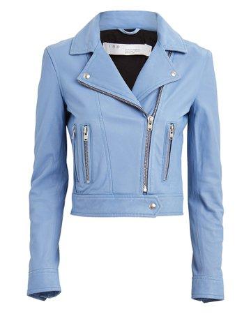 IRO | Hartley Leather Moto Jacket | INTERMIX®