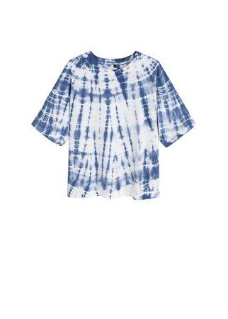 MANGO Tie-dye printed t-shirt