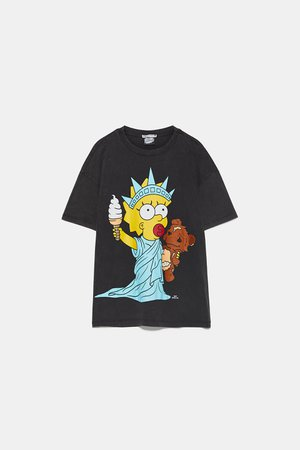 THE SIMPSONS ™ PRINT T-SHIRT | ZARA United States