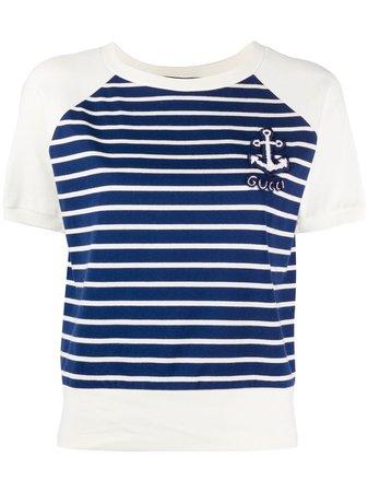 Gucci Anchor Patch t-shirt - Farfetch