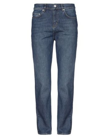 Wood Wood Denim Pants - Men Wood Wood Denim Pants online on YOOX United States - 42739379IP