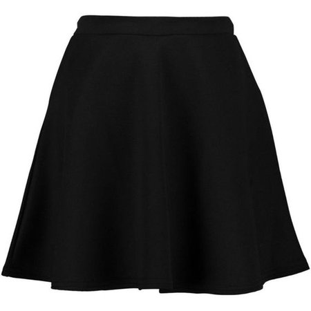 Boohoo Night Roseanna Fit and Flare Skater Skirt