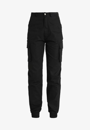 Black Cargo Pants | Missguided