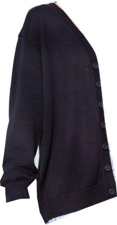 navy blue amber cardigan