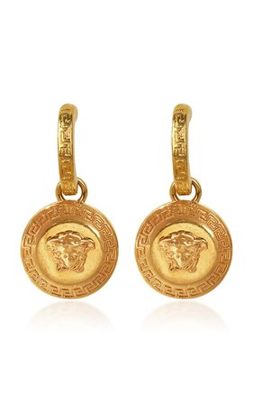 Gold-Tone Earrings by Versace | Moda Operandi