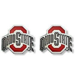 ohio state buckeye earrings - Google Search