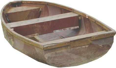 row boat png filler wood brown sea mood