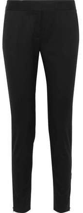 Vivian Wool-twill Slim-leg Pants