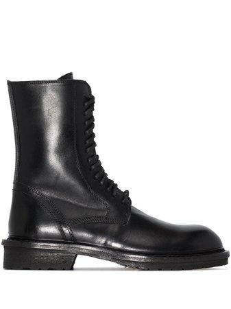 Ann Demeulemeester Combat Boots - Farfetch