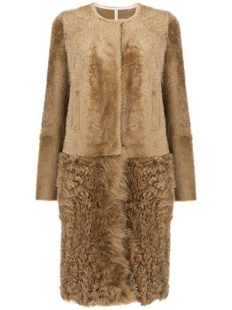 Yves Salomon, shearling coat